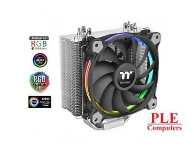 Thermaltake Riing Silent 12 RGB Sync Edition CPU Cooler[CL-P052-AL12SW-A]