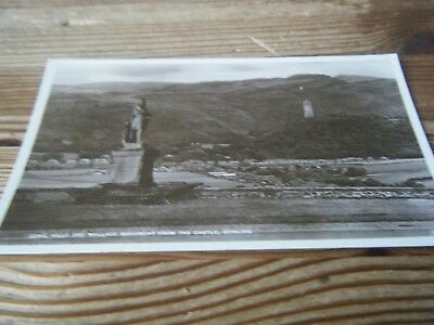 J.b. White Of Dundee   Rp  Card -  Ochil Hills  And Wallace  Monument - Stirling