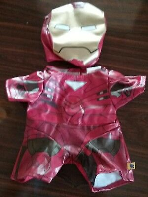 Build A Bear Iron Man Marvel Avengers set