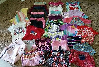 Summer Lot of girls clothing, size 3T Carter's Childrens Place Gymboree Crazy 8