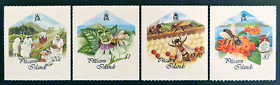 1999 Pitcairn Islands Stamps - Bee Keeping - Self Adhesive Stamps - Set of 4 MNH