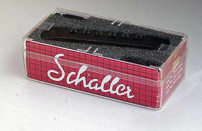 1 x original Schaller Tailpiece SH 6 strings in different colors
