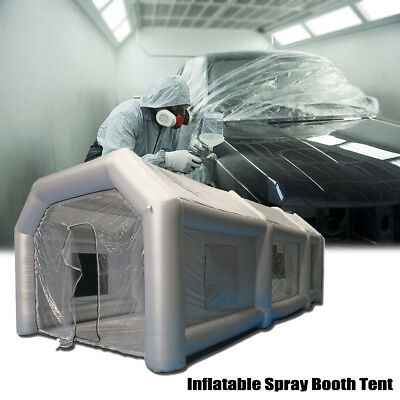 39x16x13Ft Inflatable Spray Booth Custom Tent Car Paint Booth Inflatable Car 12m