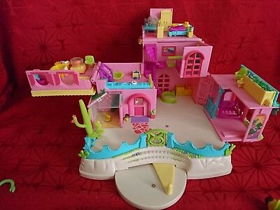 Polly Pocket Magnet Tierfarm , Hacienda 2x Figuren 10 x Tiere