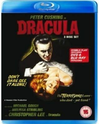 Dracula (Christopher Lee, Peter Cushing) New Region B Blu-ray + DVD