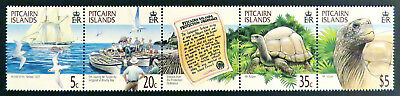 2000 Pitcairn Islands Stamps - Protection of 'Mr Turpen' - Strip of 4 MNH