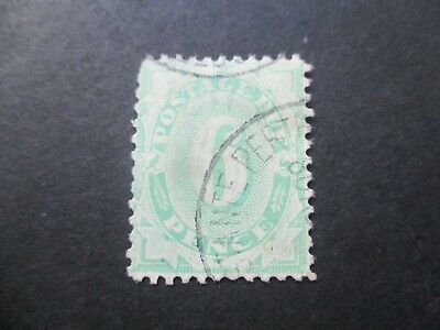 NSW Stamps: Postage Dues 1906 - Rare Used  (d162)