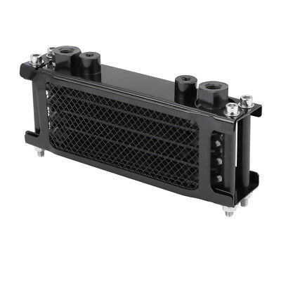 Oil Cooler Radiator 50cc-110cc CNC Plate for Pit Dirt Bike ATV Motorcycle Black