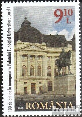 Romania 6894 (complete.issue.) unmounted mint / never hinged 2014 Inauguration S