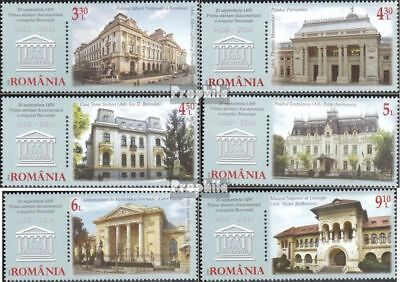 Romania 6867-6872 (complete.issue.) unmounted mint / never hinged 2014 555 years
