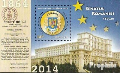 Romania Block593 (complete.issue.) unmounted mint / never hinged 2014 150 years