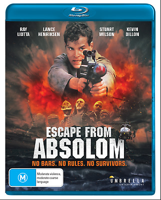 Escape from Absolom Blu-Ray (No Escape) [New/Sealed] Region A, B, C