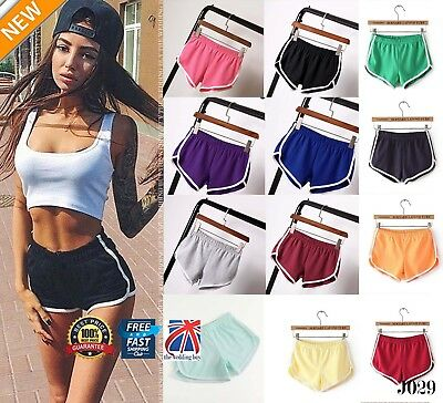 Women Sports Shorts Casual Ladies Beach Summer Running Gym Yoga Hot Pants J029