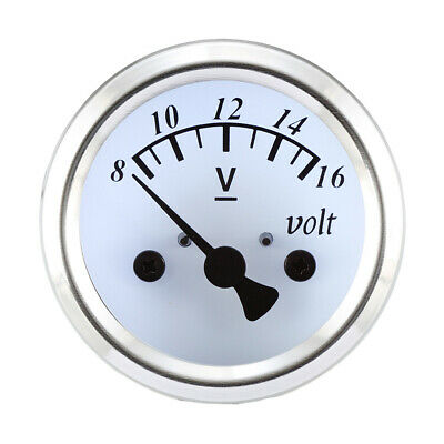 Taiwan Made 48mm White Led Electrical Motorcycle Volt Gauge for YAMAHA