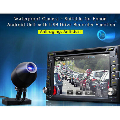 GPS Navigation Car DVR Recorder Front View Camera 120'' USB Port In-car Camera