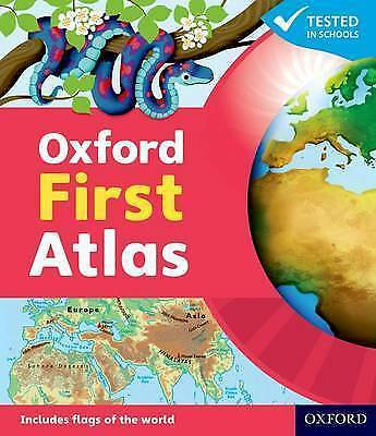 NEW Oxford First Atlas Hardcover Patrick Wiegand  9780198487852 my world book uk