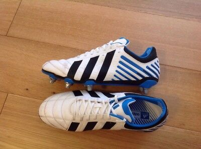 Adidas Adipower Rugby Boots 8 Stud UK Size 14