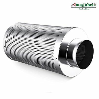 Amagabeli 6 inch Carbon Filter Odor Control in Air Scrubber with Australia for
