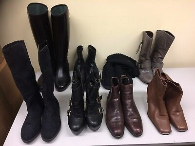 Job Lot JOBLOT Wholesale 8 pairs of Ladies Boots RESELL CARBOOT  TRADER