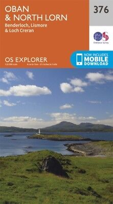 OS Explorer Map (376) Oban and North Lorn (Map)
