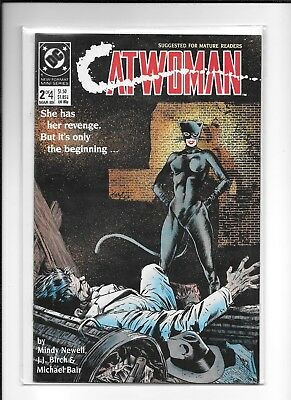 Catwoman #2 (Of 4) Decent (7.5) Dc 1989 Mini Series