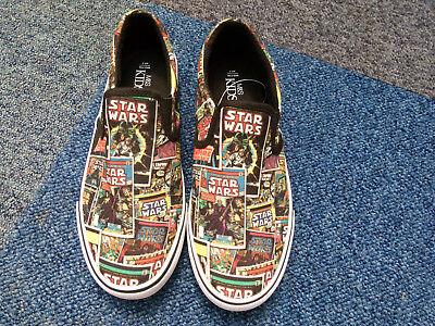 size 3 childrens  star wars  plimsoles   new from marks & spencers