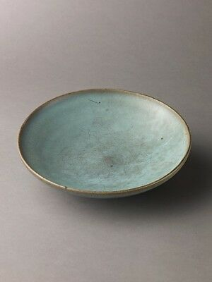 """Chinese , Northern Song Dynasty:Shallow dish Jun ware 11th–1-16x12""""(A3) Poster"""