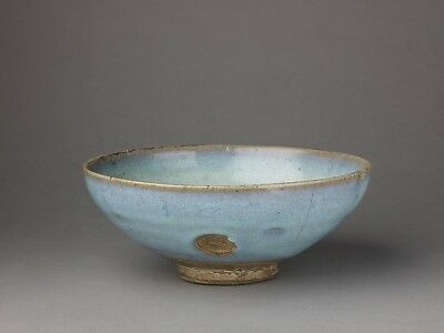 "Chinese , Yuan Dynasty:Deep bowl Jun ware 13th–14th century-16x12""(A3) Poster"