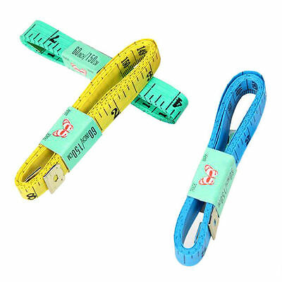 Pack of 2 Measuring Tape. 50cm / 60 inches Clothes Making Body Measurer Ruler