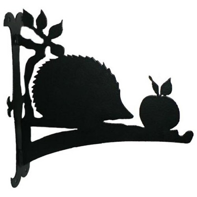 Hedgehog Hanging Basket Bracket