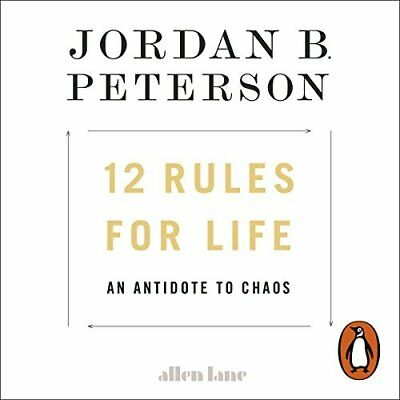 12 Rules for Life: An Antidote to Chaos  (Audiobook) INSTANT EMAIL DELIVERY