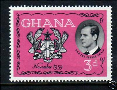 Ghana 1959 Visit Duke of Edinburgh SG 233 MNH
