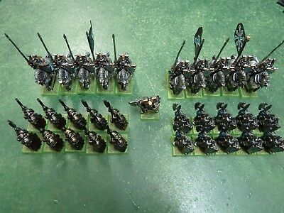 Warhammer Fantasy CHAOS WARRIORS TZEENTCH ARMY Painted Citadel AOS 1000 points+