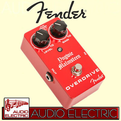 Fender Yngwie Malmsteen Overdrive Distortion Pedal