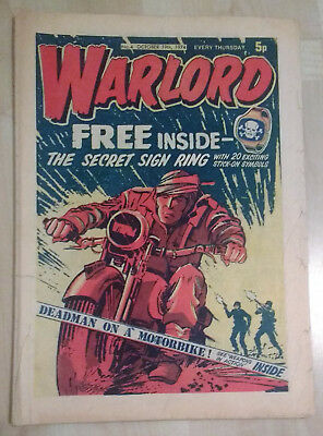 WARLORD comic No. 4 (October 19th 1974) complete issue British boys magazine