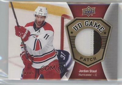 db63fb1b5 2016 Upper Deck UD Game Jersey Patch GJ-JS Jordan Staal Carolina Hurricanes  Card