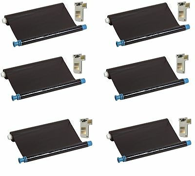 6x Compatible ink-film faxfilm replaces Philips PFA-351 with Chip Magic 5