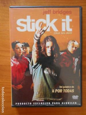 Dvd Stick It - ¡Que Les Den! - Edicion De Alquiler - Jeff Bridges (5Z)