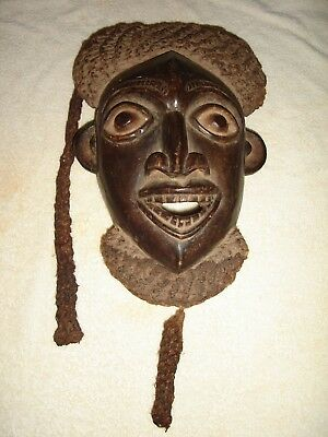 Antique Ceremonial Tribal Wooden  Mask