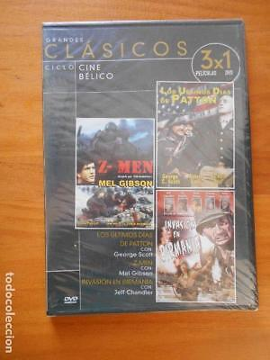 Dvd Los Ultimos Dias De Patton / Z-Men / Invasion En Birmania - Caja Slim (I6)