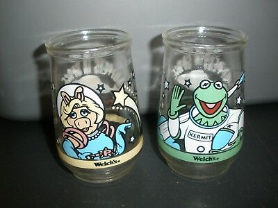 Welch's Muppets In Space Jelly Jars Kermit Miss Piggy