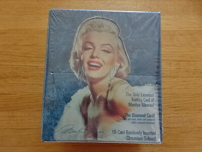 Case Of 12 Sealed Boxes Marilyn Monroe Trading Cards!