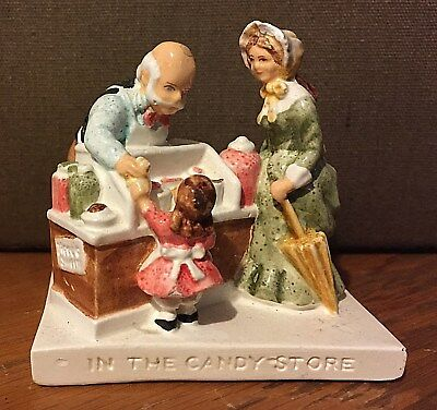 In the Candy Store #6221, Sculpted 1947 by Prescott Baston, Sebastian Miniatures