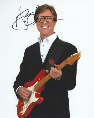 """Selling : 10"""" x 8"""" Signed Photo of Rock Legend Hank Marvin"""