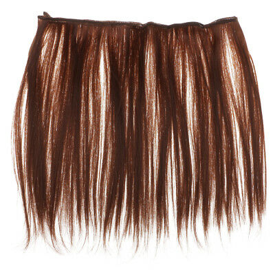 25x100cm Straight Doll Wigs Synthetic Hair for 1/3 1/4 1/6 BJD Dolls Copper