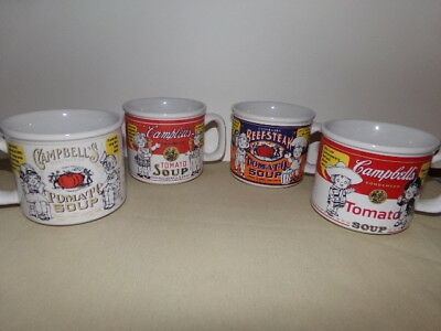 4 - Campbell's Soup Kids by Westwood 1999 Soup Bowl / Mugs