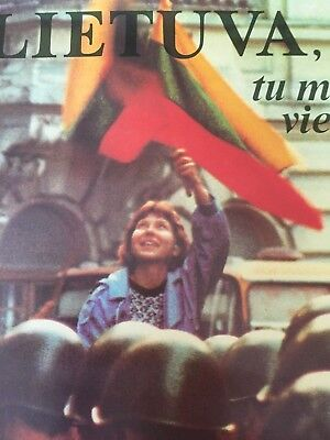 Vintage Lithuania for me you are the only one Poster Lietuva Tu Man Viena 23930