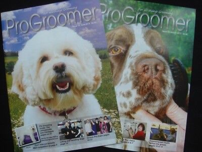 The Pro Groomer Dog Grooming Magazines x2 Professional Show Breeder Labradoodle