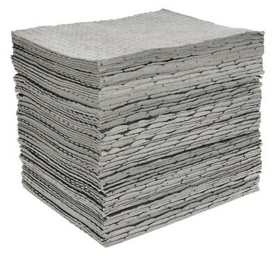 Sealey Spill Absorbent Pads Pack of 100 SAP01
