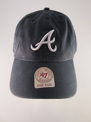 a4d44f53 ... clearance atlanta braves 47 brand clean up adjustable field relaxed dad hat  cap nwt 2f6e2 d8e1a